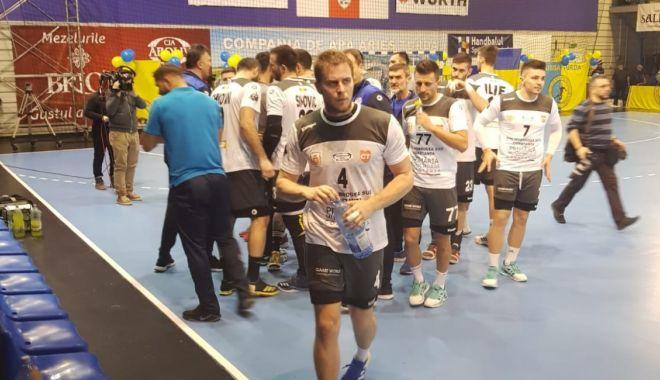 Foto: HC Dobrogea Sud, remiză în partida de la Turda