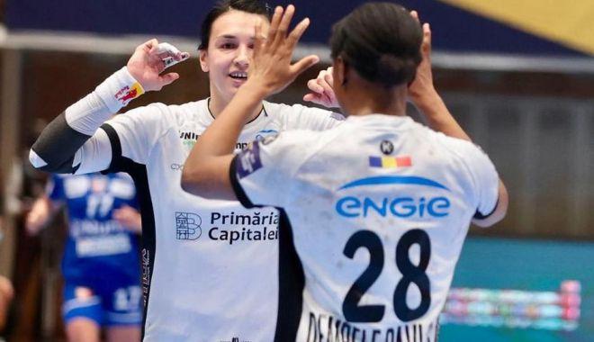 Handbal / CSM Bucureşti, ca şi calificată în sferturile Ligii Campionilor - handbalcsm-1615116584.jpg