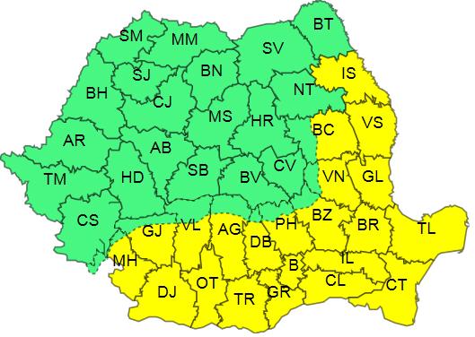 COD GALBEN de CANICULĂ și disconfort termic, la Constanța - harta-1595930752.jpg