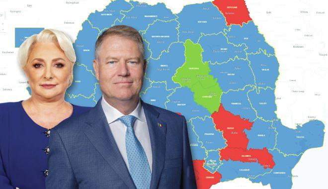 Klaus Iohannis, învingător! Constanța iese de sub umbrela roșie a PSD - hartargb-1573507102.jpg