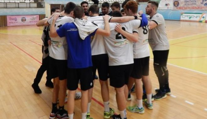 Foto: HC Dobrogea Sud II, victorie la pas în meciul cu CSM Alexandria