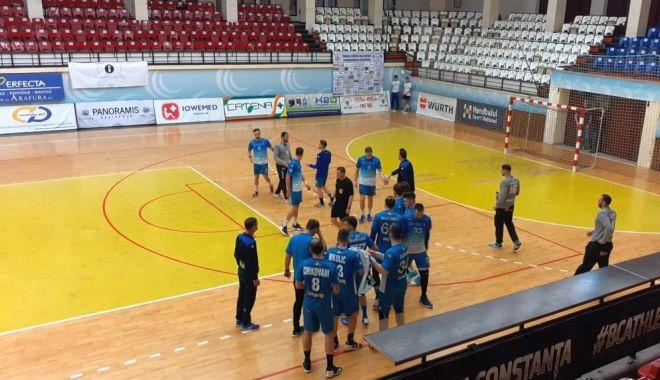 HCDS, victorie fără spectatori. Constănțenii au câștigat meciul cu Dunărea Călărași - hcds-1584132528.jpg