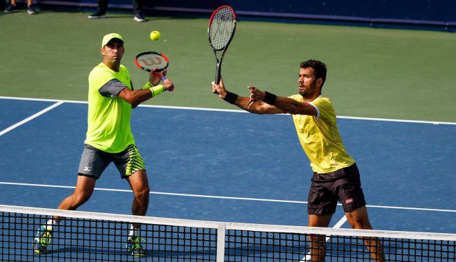 Foto: Tecău și Rojer s-au oprit în primul tur, la Miami