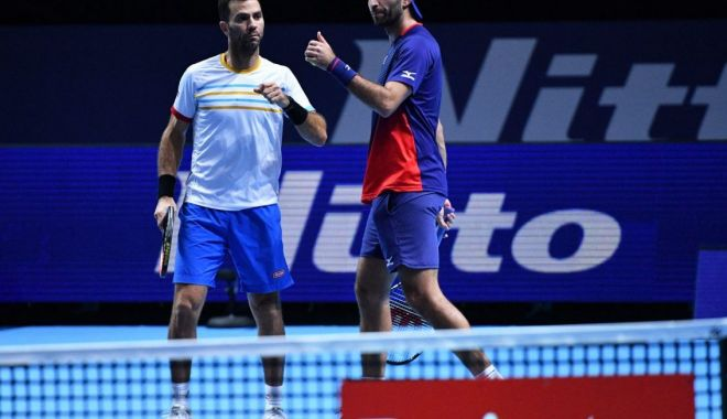 Tecău și Rojer au ratat calificarea în semifinalele Turneului Campionilor - horiatecau-1574015293.jpg