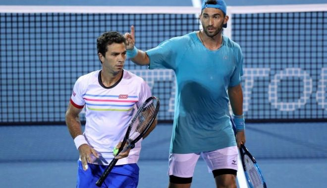 Tenis, ATP Stockholm: Horia Tecău și Jean-Julien Rojer, calificați în sferturi - horiatecuijeanjulienrojer-1571326686.jpg