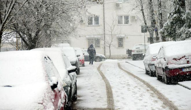 Foto: Iarna se dezlănțuie! Autoritățile locale, în alertă!