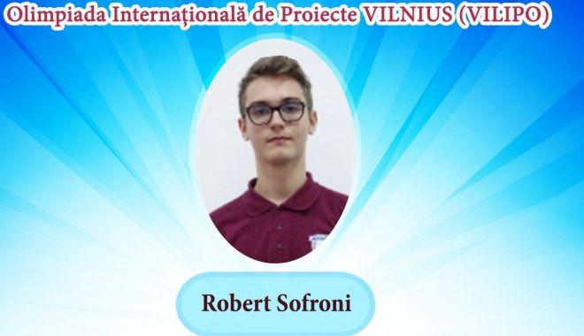 Foto: Medalie de argint pentru un elev al Liceului Internațional de Informatică