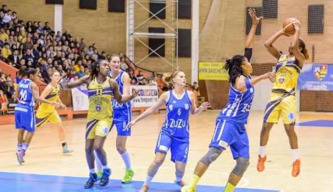 Foto: ICIM Arad, câștigătoarea sezonului regulat la baschet feminin