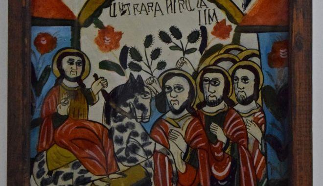 """Icoana """"Intrarea în Ierusalim"""", la Muzeul de Artă Populară Constanţa - icoana-1615832931.jpg"""