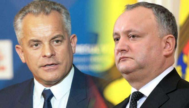 Foto: Igor Dodon susține că SUA l-au ascuns pe Vlad Plahotniuc