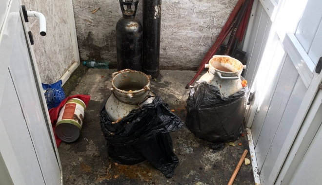 Galerie foto-video / Imagini de groază din bucătăria unei terase din Eforie Sud! OPC este în control - imaginidegroaza1-1502187941.jpg