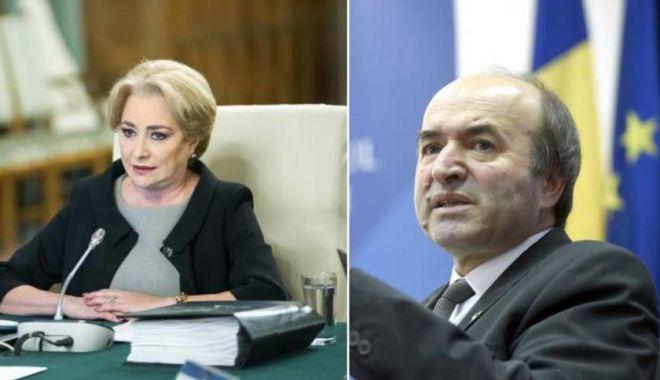 Tudorel Toader, după întâlnirea cu premierul Dăncilă la Guvern: