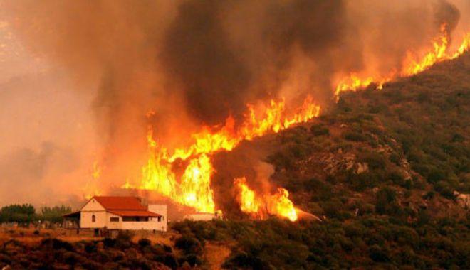 Noi incendii în Grecia: Locuitorii din două sate din apropiere de Atena au fost EVACUAȚI - incendiidevastatoaregrecia003613-1534164169.jpg