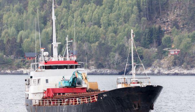 Foto: Incendiu pe o navă, în Norvegia