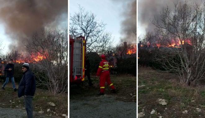 VIDEO: TRAGEDIE LA TECHIRGHIOL. Femeie găsită carbonizată în casă, după un incendiu - incendiu-1578077250.jpg