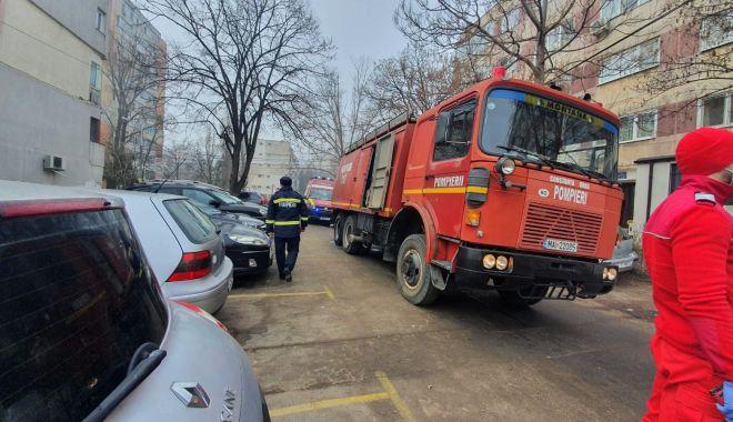 INCENDIU în Constanța. O oală uitată pe foc a pus pe jar pompierii - incendiuadamclisi1-1613981288.jpg