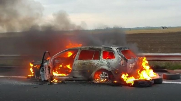 Foto: Șoferi, atenție! Traficul, oprit pe Autostrada Soarelui!