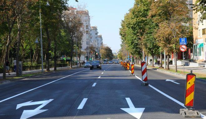 Începând de mâine, sens unic pe un bulevard important din Constanța - incepanddemainebulevardultomis-1601397574.jpg