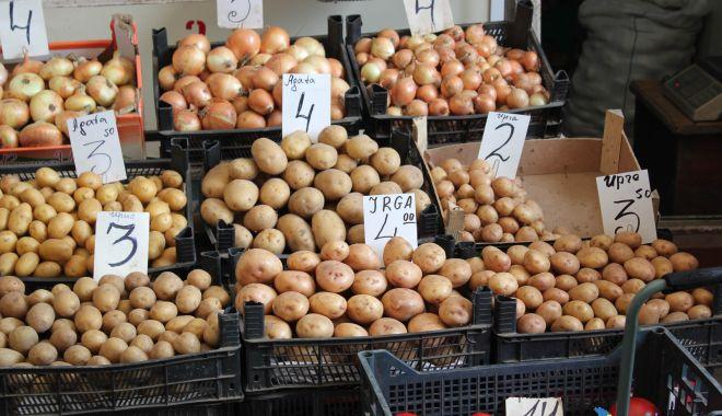 Foto: Inflația ne-a lovit drept în farfurie