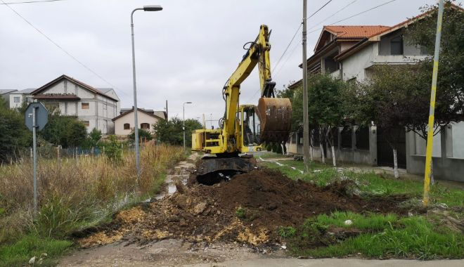 Foto: În sfârșit! Străzile de pământ din cartierul Compozitorilor, asfaltate