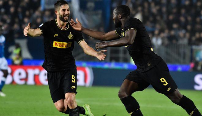 Foto: Inter Milano a făcut o nouă victimă. Echipa lui Conte este lider în Serie A