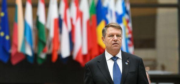 Foto: Președintele Iohannis, la reuniunea Consiliului European de la Bruxelles