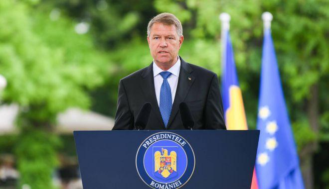 """Foto: Klaus Iohannis: """"Voi avea cu PNL  o abordare de campanie așa cum  se așteaptă românii"""""""