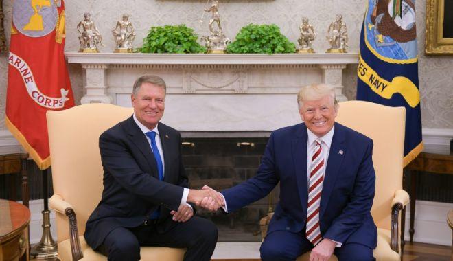Iohannis, primit la Casa Albă de președintele SUA. Declarația comună - iohannis-1566369288.jpg