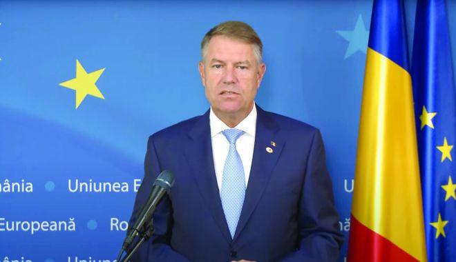 VIDEO / Iohannis: Am obținut pentru România o sumă impresionantă de 79,9 miliarde de euro la summitul UE - iohannis-1595312103.jpg