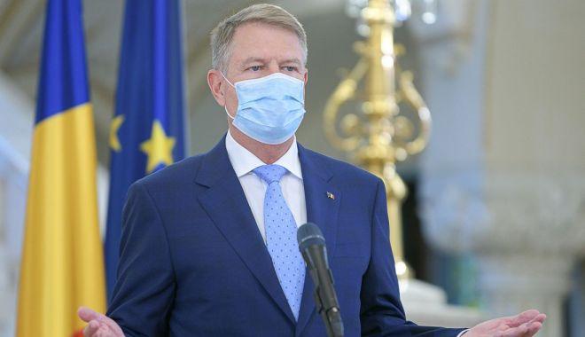Președintele Klaus Iohannis: