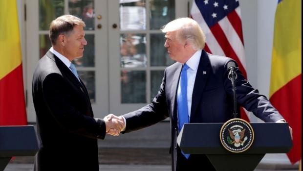 Foto: Klaus Iohannis, întâlnire la Casă Albă cu Donald Trump