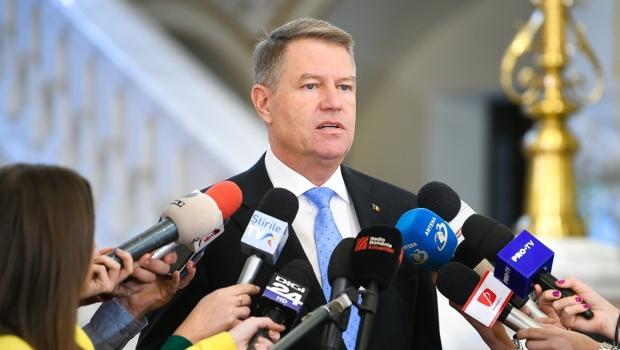 Foto: Președintele Klaus Iohannis, declarație la ora 11.00