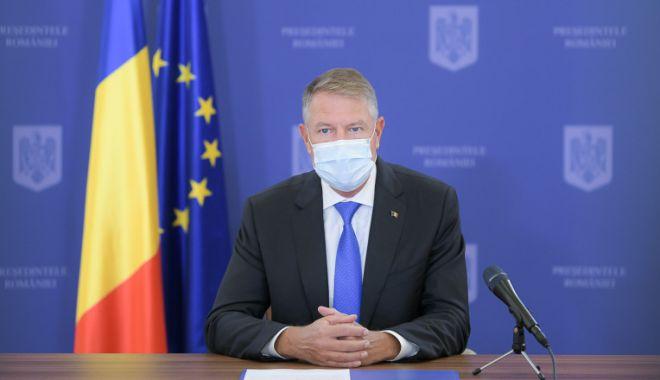Klaus Iohannis susţine că, prin carantinarea localităţilor, pandemia este ţinută sub control - iohanniscarantinare-1606061568.jpg