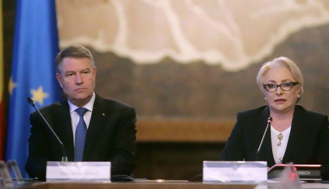 Foto: Discuții Dăncilă - Iohannis privind propunerile de miniștri la Interne, Externe și vicepremier