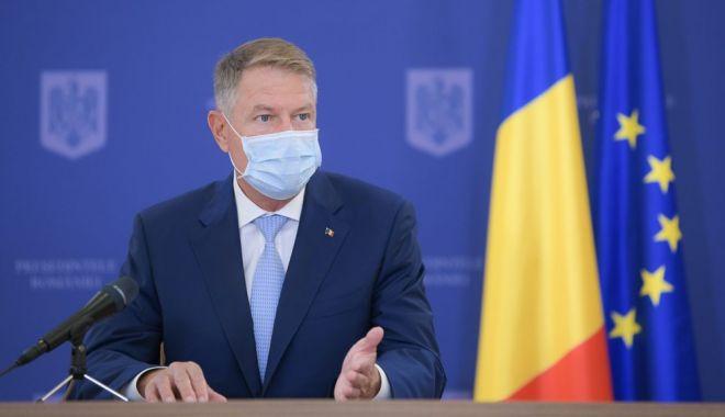 """Klaus Iohannis: """"Pandemia de COVID-19 ne pune în faţa unor noi provocări"""" - iohannispandemieonline-1606298895.jpg"""