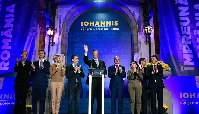 Foto: IOHANNIS PREȘEDINTE. Ce promisiune a făcut românilor