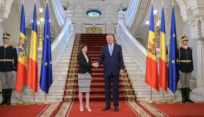 """Foto: Klaus Iohannis: """"România, cel mai constant susținător al Republicii Moldova"""""""