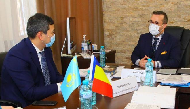 Viceprimarul Constanţei, Ionuţ Rusu, gazdă pentru delegaţia Ambasadei Kazahstanului în România - ionutrusu-1613413793.jpg