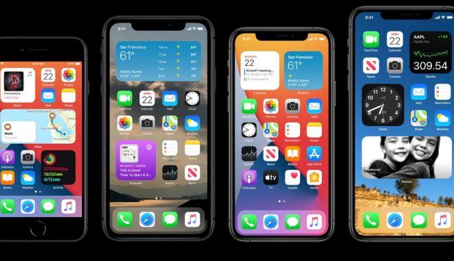 Foto: VIDEO / Apple a prezentat noul iOS 14. Ce noutăți aduce pentru utilizatorii de iPhone