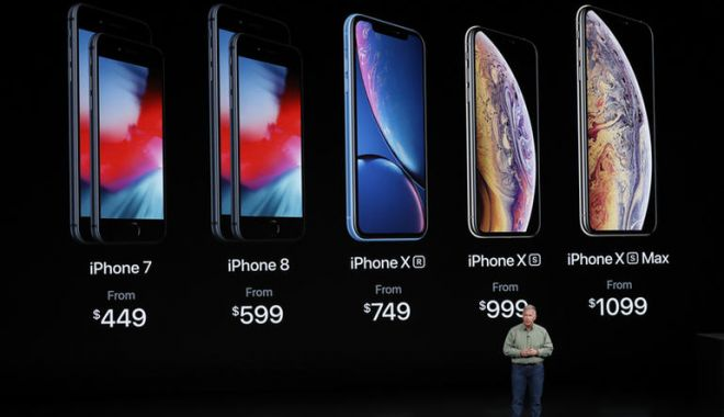 Foto: Primele probleme ale noilor telefoane Apple: iPhone XS, iPhone XS Max și iPhone Xr