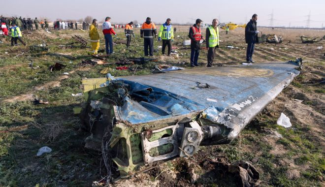 Foto: Iranul confirmă! Au fost trase două rachete asupra avionului ucrainean doborât
