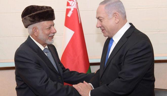 Foto: Israelul a restabilit relații oficiale cu Omanul
