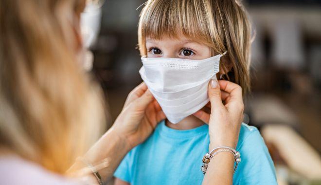 Foto: Rata de infectare cu coronavirus crește constant în rândul copiilor