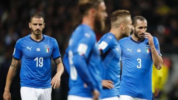 Foto: ȘOC în FOTBAL. Italia ratează primul Mondial după 60 DE ANI