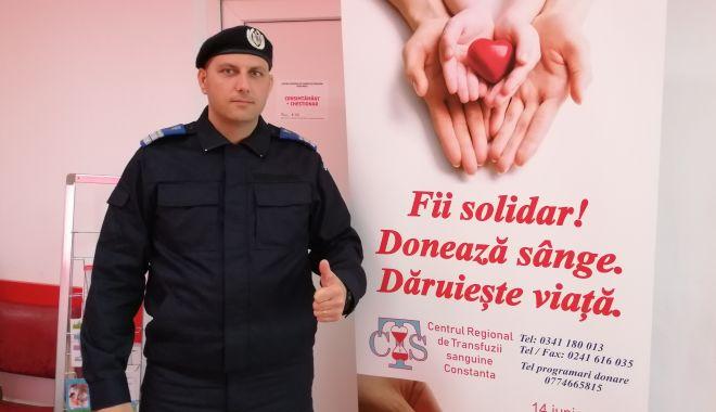 Misiune de salvare de vieți: jandarmii constănțeni donează sânge! - jandarmiidoneaza1-1600263710.jpg