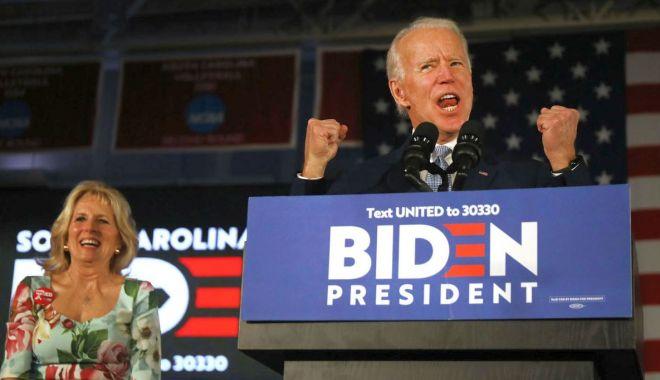 Foto: Joe Biden relansează cursa democrată pentru Casa Albă