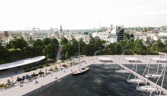Transformare spectaculoasă a promenadei din Portul Tomis şi Plaja Modern. Ce propun arhitecţii - jos2-1614105183.jpg