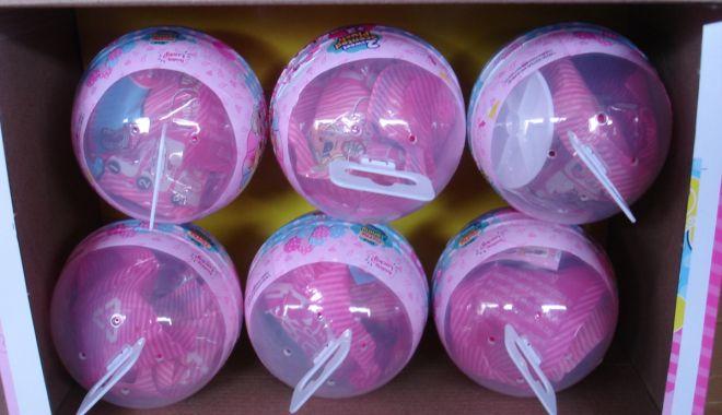 Foto: Jucării contrafăcute, confiscate în Portul Constanța Sud Agigea