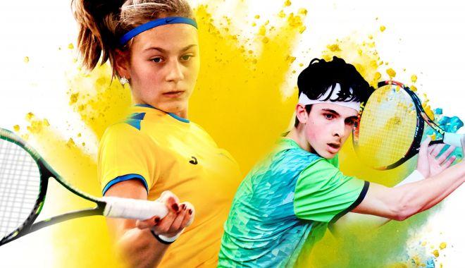 Foto: Calificările CE de tenis individual de vară U16, la Tenis Club Bright