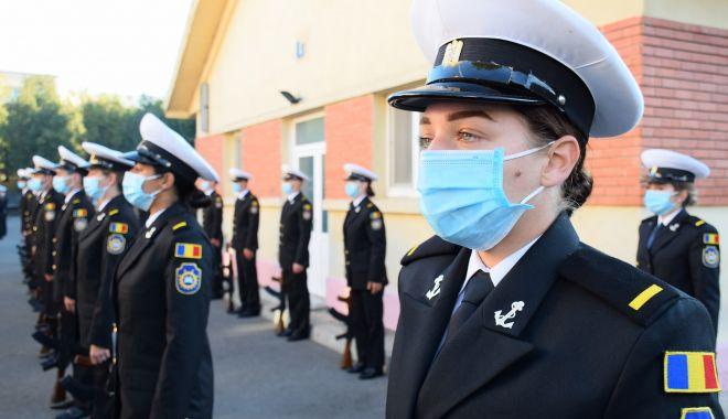 Jurământ de credinţă la Academia Navală